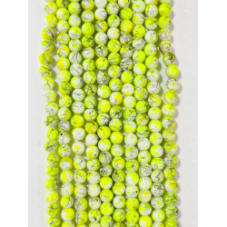 6 strands of glass beads in 10mm,  each 38pcs#061823