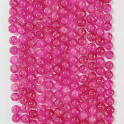 060517# 6 strands of glass beads in 10mm, each 38pcs