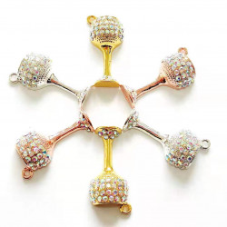 10PCS WINE GLASS CHARMS, DRINKING CHARMS-ab