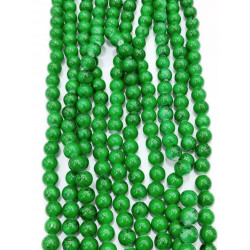 4120# 6 strands glass beads in 10mm,  each38pcs