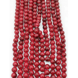 4142# 6 strands glass beads in 10mm,  each38pcs