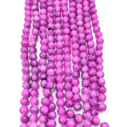 4141# 6 strands glass beads in 10mm,  each38pcs