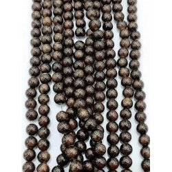 4140# 6 strands glass beads in 10mm,  each38pcs