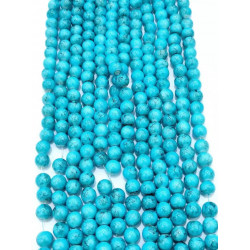 4139# 6 strands glass beads in 10mm,  each38pcs