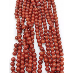 4136# 6 strands glass beads in 10mm,  each38pcs