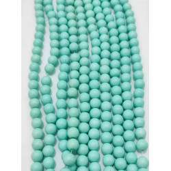 4132# 6 strands glass beads in 10mm,  each38pcs