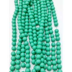 4126# 6 strands glass beads in 10mm,  each38pcs