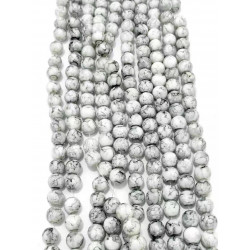 4128# 6 strands glass beads in 10mm,  each38pcs
