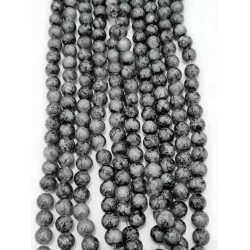 4133# 6 strands glass beads in 10mm,  each38pcs