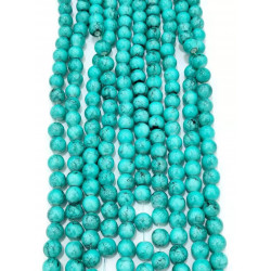 4148# 6 strands glass beads in 10mm,  each38pcs