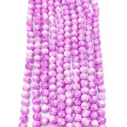 4150# 6 strands glass beads in 10mm,  each38pcs