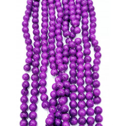 4152# 6 strands glass beads in 10mm,  each38pcs
