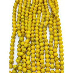 4129# 6 strands glass beads in 10mm,  each38pcs