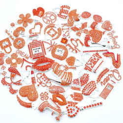 #3944 50PCS MIXED DELICATE GIRLS CHARMS  picked at random