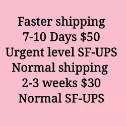 FASTER SHIPPING 7-10DAYS