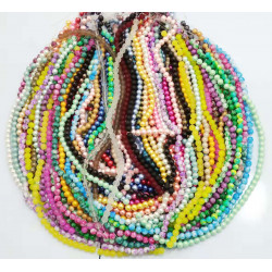 100 strands mixed beads in 10mm sale 005