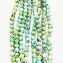 10 strands glass beads in 10mm 3117
