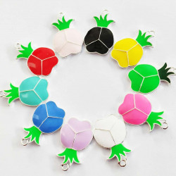20PCS pineapple CHARMS