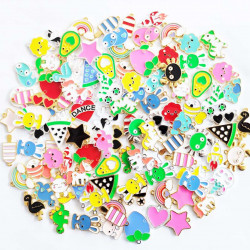 100pcs ghost charms 2563