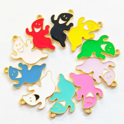 30pcs ghost charms 2577