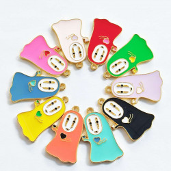 30pcs ghost charms 2575