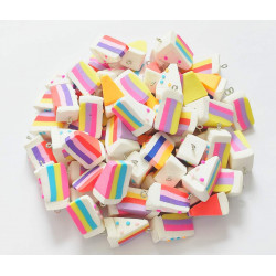 100PCS BISCUITS CHARMS 1448