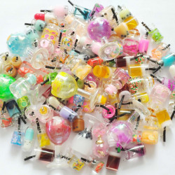 100PCS mixed lovely resin CHARMS 1452