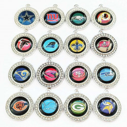 32pcs coin charms 2502