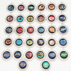 32pcs coin charms 2503
