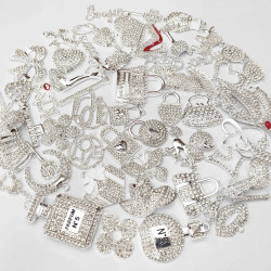 #2976 50PCS MIXED DELICATE GIRLS CHARMS picked at random