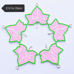 20PCS LEAF CHARMS