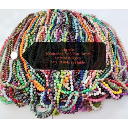 100strands mixed beads in 10mm sale 004