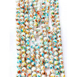 10 strands glass beads in 10mm 3115