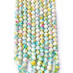 10 strands glass beads in 10mm 3116