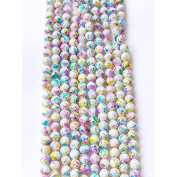 #2972 10 strands of beads in 38pcs